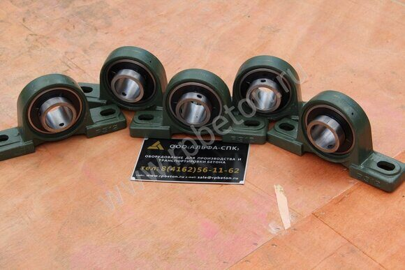 Подшипник в корпусе P312 для дозаторной системы БРУ