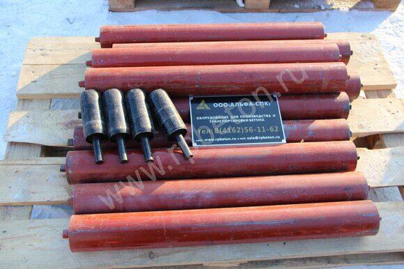 Ролики транспортерной ленты направлящие и поддерживающие